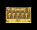 Fractional Currency:First Issue, Fr. 1279 25c First Issue Choice New. Perforated on four sides, butsomeone also used scissors to detach this note from its p...