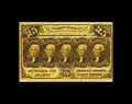Fractional Currency:First Issue, Fr. 1281 25c First Issue Choice New. This note has one of the darkest brown ink faces we can remember and that goes back to ...
