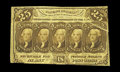 Fractional Currency:First Issue, Fr. 1281 25c First Issue Very Fine. This is a very pleasing exampleof this more common note that has a pronounced gutter fo...