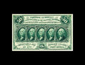 Fractional Currency:First Issue, Fr. 1310 50c First Issue Choice New. This gorgeous perforated 50Cent note is a Superb example in every sense save one, the ...