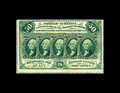 Fractional Currency:First Issue, Fr. 1310 50c First Issue Choice New. Dark green ink is found on this attractive note that is perforated on all four sides wi...
