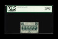 Fractional Currency:First Issue, Fr. 1313SP 50c First Issue Narrow Margin Face PCGS Very Choice New64PPQ. Bright paper and dark green ink make this a very n...