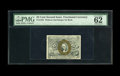Fractional Currency:Second Issue, Fr. 1283 25c Second Issue PMG Uncirculated 62. A very pleasing example of this second issue type note which has decent margi...