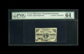 Fractional Currency:Third Issue, Fr. 1226 3c Third Issue with William S. Elliott Courtesy Autograph. PMG Choice Uncirculated 64 EPQ. This light background Th...