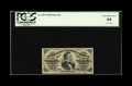 Fractional Currency:Third Issue, Fr. 1291 25c Third Issue PCGS Very Choice New 64. This boldly embossed note has nice margins. The lower left-hand corner als...