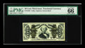 Fractional Currency:Third Issue, Fr. 1339 50c Third Issue Spinner Type II PMG Gem Uncirculated 66 EPQ. The margins are perfectly ample and the embossing is b...