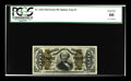 Fractional Currency:Third Issue, Fr. 1342 Milton 3R50.21c 50¢ Third Issue Spinner Type II PCGS Gem New 66. This note was formerly part of the O'Mara Collecti...