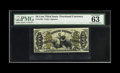 Fractional Currency:Third Issue, Fr. 1348 50c Third Issue Justice PMG Choice Uncirculated 63. Fr.1348 is one of the important Justice rarities and this is o...