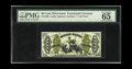 Fractional Currency:Third Issue, Fr. 1368 50c Third Issue Justice PMG Gem Uncirculated 65 EPQ. Ascarce Justice variety in any grade but decidedly rare in t...