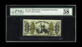 """Fractional Currency:Third Issue, Fr. 1373 50c Third Issue Justice PMG Choice About Unc 58. """"Vivid details"""" are expressed on the holder of this note that carr..."""