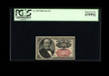 Fractional Currency:Fifth Issue, Fr. 1309 25c Fifth Issue PCGS Superb Gem New 67PPQ. Wide margins and excellent color are found on this note. A little bit of...