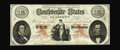 Confederate Notes:1861 Issues, T26 $10 1861. This About Uncirculated $10 is an example of the Coarse Lace subtype. It displays minute handling and the ...