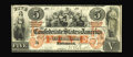 Confederate Notes:1861 Issues, T31 PF-1 $5 1861. An attractive plate letter A note that exhibits a choice orange undertint, original surfaces, and overall ...
