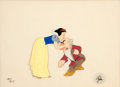Animation Art:Model Sheet, Snow White and Grumpy Limited Edition Hand Painted Cel 130/275 (Disney, 1995)....