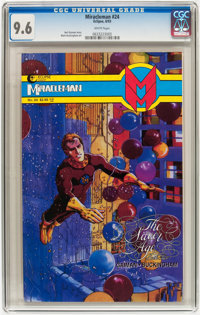 Miracleman #24 (Eclipse, 1993) CGC NM+ 9.6 White pages