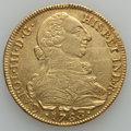 Colombia, Colombia: Charles III gold 8 Escudos 1783P-SF,...