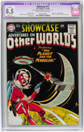 Silver Age (1956-1969):Science Fiction, Showcase #17 Adventures on Other Worlds (DC, 1958) CGC Apparent VF+8.5 Slight (P) Cream to off-white pages....