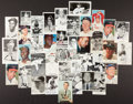 Baseball Collectibles:Others, Baseball Greats Signed Photo Card - Lot of 37. ...