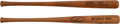 Baseball Collectibles:Bats, 1917 Honus Wagner Louisville Slugger Mini-Bat - Lot of 2. ...
