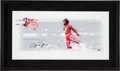 Basketball Collectibles:Photos, Michael Jordan Signed UDA Photo Display and SNL Script Cover. ...