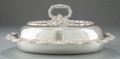 Silver Holloware, American:Entrée Dishes, A TIFFANY & CO. SILVER CHRYSANTHEMUM PATTERN COVEREDENTRÉE SERVING DISH. Tiffany & Co., New York, New York, cir...