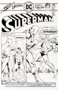 Original Comic Art:Covers, Bob Oksner Superman #292 Classic Luthor Cover Original Art (DC, 1975)....