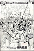 Original Comic Art:Covers, John Romita Sr. Amazing Spider-Man #156 Wedding of Betty Brant and Ned Leeds Cover Original Art (Marvel, 1976)....