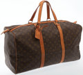 Luxury Accessories:Travel/Trunks, Louis Vuitton Classic Monogram 55cm Weekender Overnight Bag. ...
