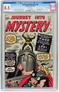Silver Age (1956-1969):Superhero, Journey Into Mystery #85 Twin Cities pedigree (Marvel, 1962) CGC VF+ 8.5 White pages....