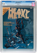 Magazines:Science-Fiction, Heavy Metal #1 (HM Communications, 1977) CGC NM/MT 9.8 White pages....