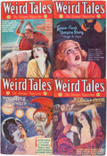Pulps:Horror, Weird Tales Group (Popular Fiction, 1932) Condition: VG unlessotherwise stated.... (Total: 7 Items)