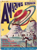 Pulps:Science Fiction, Amazing Stories V1#1 (Ziff-Davis, 1926) Condition: Apparent VG....