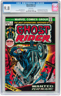 Bronze Age (1970-1979):Horror, Ghost Rider #1 (Marvel, 1973) CGC NM/MT 9.8 White pages....