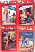 Pulps:Horror, Weird Tales Group (Popular Fiction, 1927-28) Condition: AverageGD/VG.... (Total: 5 Items)