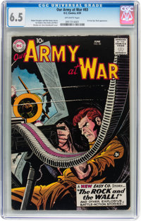 Our Army at War #83 (DC, 1959) CGC FN+ 6.5 Off-white pages
