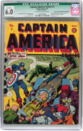"Golden Age (1938-1955):Superhero, Captain America Comics #3 Davis Crippen (""D"" Copy) pedigree (Timely, 1941) CGC Qualified FN 6.0 Cream to off-white pages...."