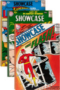 Silver Age (1956-1969):Superhero, Showcase #1-11 Removed From Bound Volume (DC, 1956-57)....