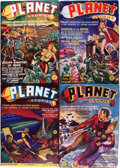 Pulps:Science Fiction, Planet Stories Box Lot (Fiction House, 1939-49) Condition: AverageFN/VF....