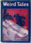 Pulps:Horror, Weird Tales September '25 (Popular Fiction, 1925) Condition:VG+....