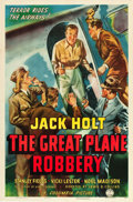 "Movie Posters:Crime, The Great Plane Robbery (Columbia, 1940). One Sheet (27"" X 41"")....."