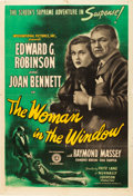 "Movie Posters:Film Noir, The Woman in the Window (RKO, 1945). One Sheet (27"" X 41"").. ..."