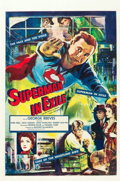 """Movie Posters:Action, Superman in Exile (20th Century Fox, 1954). International One Sheet(27"""" X 41"""").. ..."""