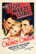 "Movie Posters:Comedy, Boy Meets Girl (Warner Brothers, 1938). One Sheet (27"" X 41"").. ..."