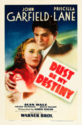 "Movie Posters:Drama, Dust Be My Destiny (Warner Brothers, 1939). One Sheet (27"" X 41"").. ..."