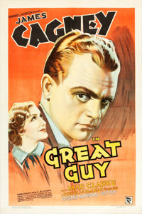 """Great Guy (Grand National, 1936). One Sheet (27"""" X 41"""")"""