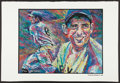 Baseball Collectibles:Others, 2000 Yogi Berra Signed Lithograph. ...