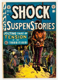 Golden Age (1938-1955):Horror, Shock SuspenStories #5 (EC, 1952) Condition: FN....