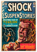 Golden Age (1938-1955):Horror, Shock SuspenStories #7 (EC, 1953) Condition: FN+....