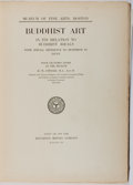 Books:Art & Architecture, M. Anesaki. Buddhist Art In Its Relation to Buddhist Ideals. Houghton Mifflin, 1915. First edition, first printing. ...