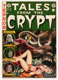 Golden Age (1938-1955):Science Fiction, Tales From the Crypt #32 (EC, 1952) Condition: FN/VF....